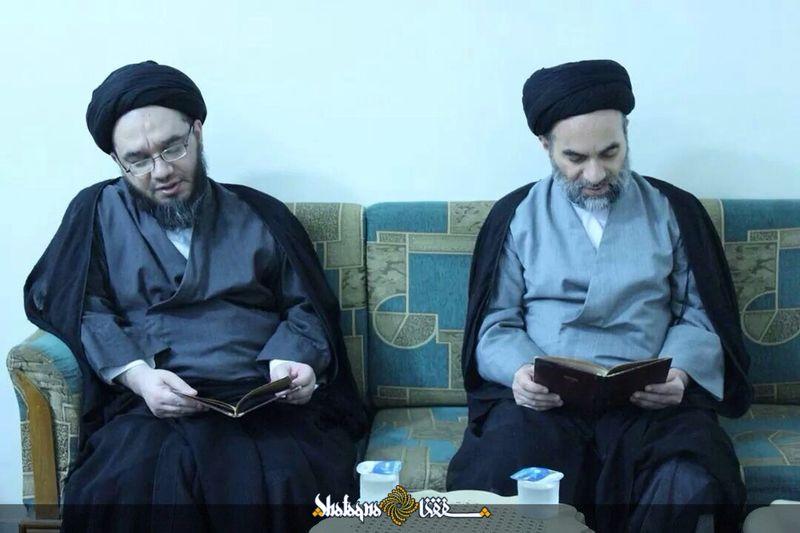 دو پسر آیت الله سیستانی+عکس