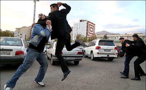 آموزشگاه بادیگاردهای تهران+تصاویر