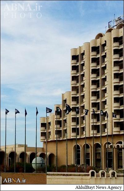 هتل داعش در موصل+تصویر