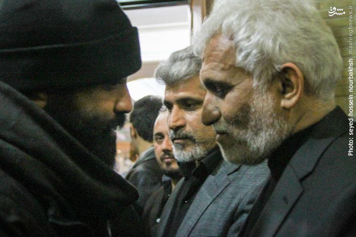 مداح معروف در مجلس ترحیم مرتضی پاشایی+عکس