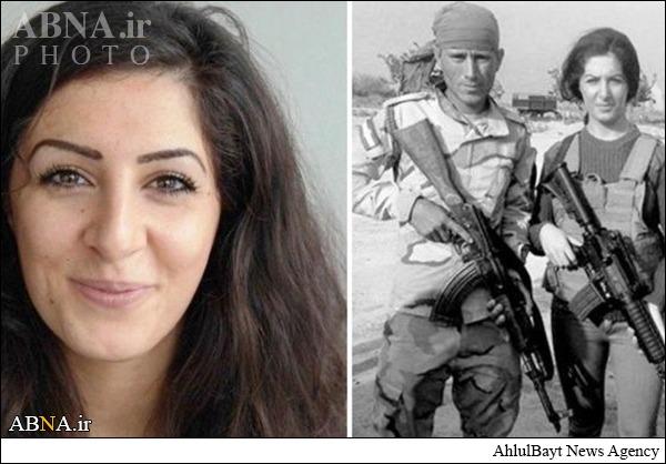 دختر دانمارکی که علیه داعش میجنگد/تصاویر