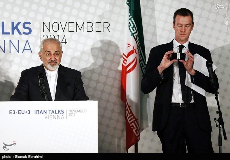 عکاسی سخنگوی وزارت خارجه آمریکا ازظریف در وین +تصاویر