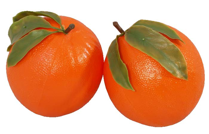 پرتقال بازار رنگ شده هستند