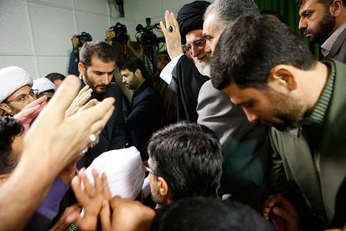 دیدار علمای ضدتکفیری جهان اسلام با رهبر انقلاب |تصاویر