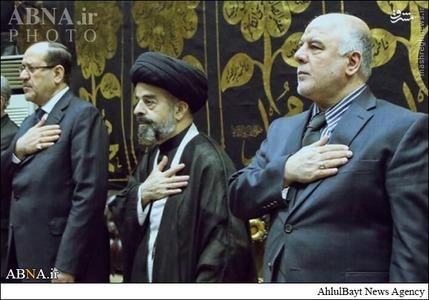 عزاداری تاسوعا در منزل نوری المالکی+تصاویر