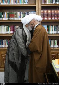 دیدار حسین انصاریان با هاشمی رفسنجانی+تصاویر