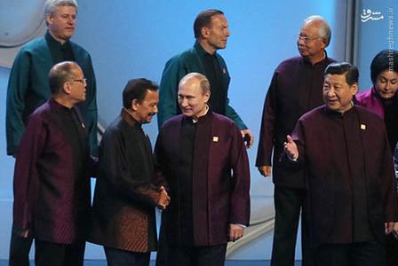 اوباما و پوتین هم چینی شدند!+تصاویر