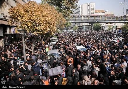 عکسهای تشییع جنازه مرتضی پاشایی