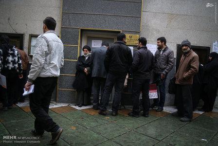 صف صدور ویزا برای اربعین در تهران |تصاویر