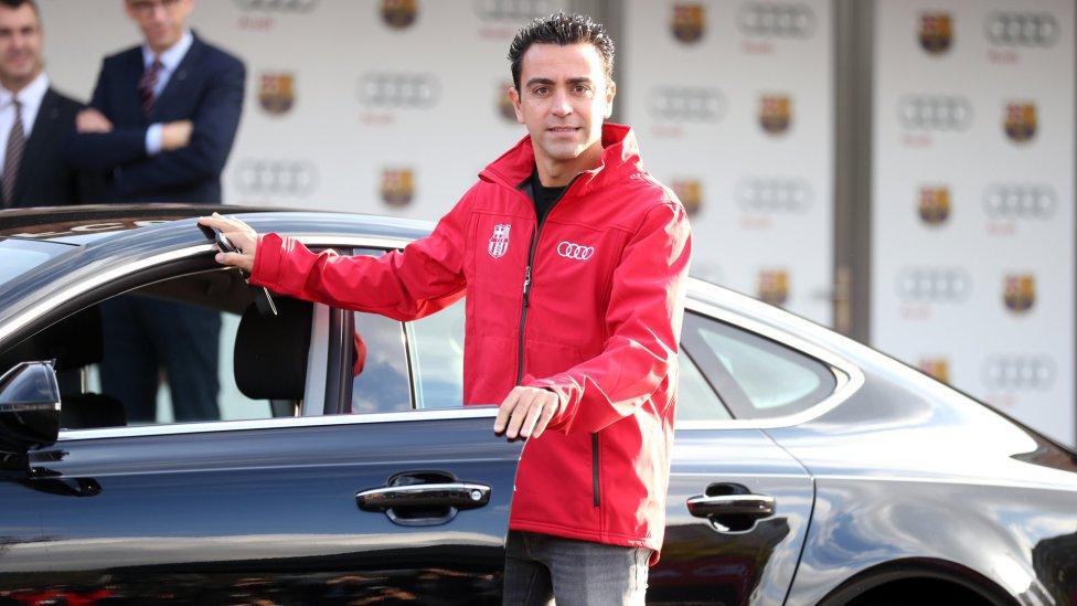 بازیکنان بارسلونا از آئودی ماشین هدیه گرفتند+تصاویر