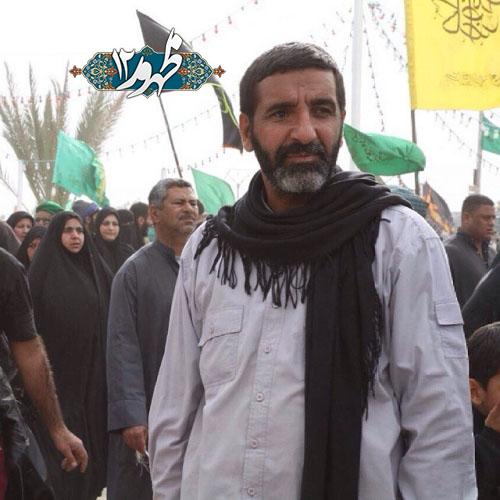 حاج حسین یکتا در پیاده روی اربعین حسینی امسال/عکس