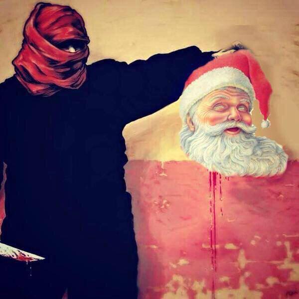 داعش و کریسمس +عکس