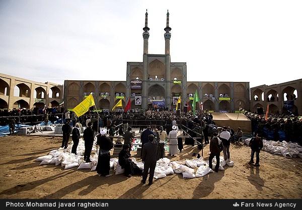 آیا دفن شهدا در میدان «امیر چخماق» یزد غیر قانونی بود؟