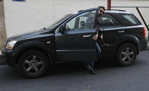 ماشین لوکس شهاب حسینی/عکس