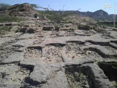 قبرستان جن ها در سیستان و بلوچستان/تصاویر