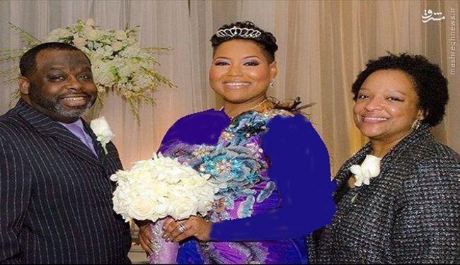 دختری که باخودش ازدواج کرد +عکس