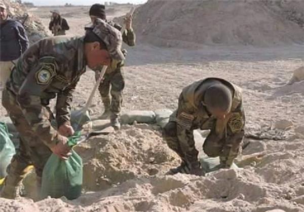 بزرگترین مین جهان در عراق +تصاویر