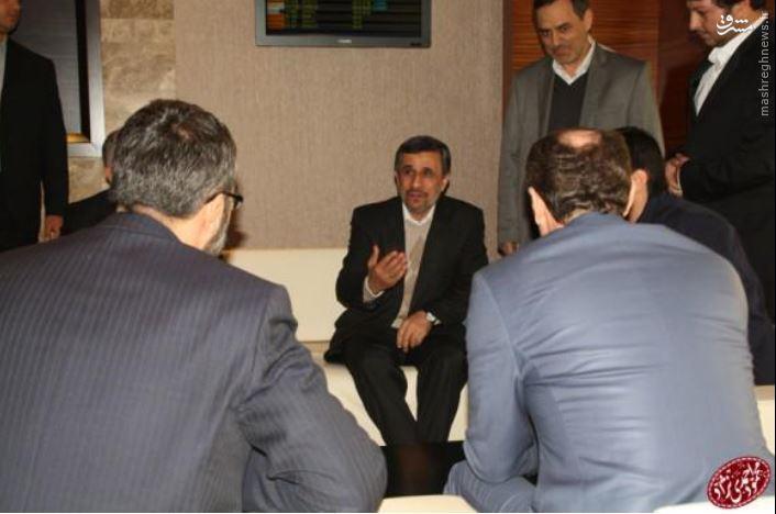 احمدی نژاد به ترکیه رفت +تصاویر