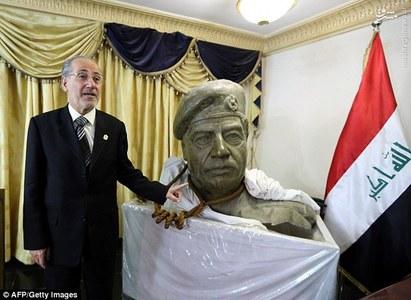 طناب اعدام صدام +عکس