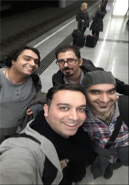 آخرین تصویر دو قربانی ایرانی سقوط هواپیما آلمانی
