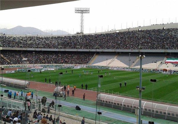 80هزار تماشگر افغانی در ورزشگاه آزادی +عکس