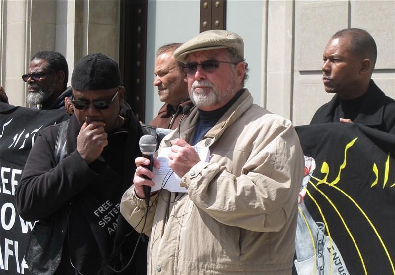 مسلمانان آمریکا مقابل اداره زندانهای فدرال تجمع کردند+عکس