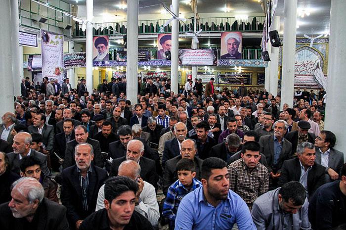 مراسم ختم مادر رئیس جمهور در تهران +تصاویر