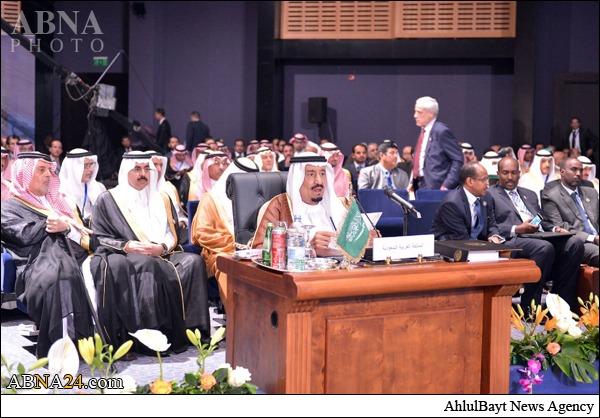 حرکات عجیب وزیر خارجه عربستان که سانسور شد+فیلم