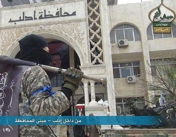 ادلب سوریه اشغال شد