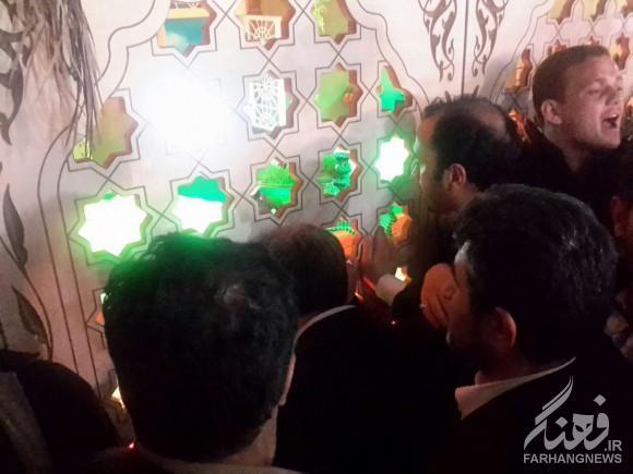 تصاویر احمدی نژاد در زائران راهیان نور 94