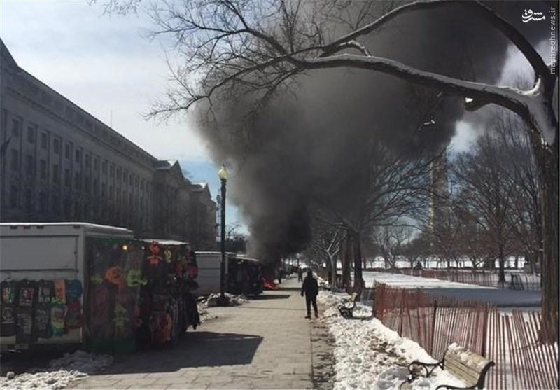 انفجار در اطراف کاخ سفید+عکس