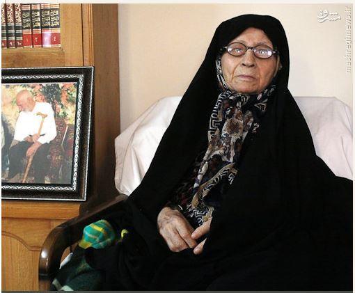 مادر حسن روحانی درگذشت