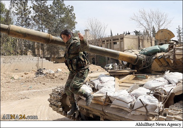 زنان جنگجو سوریه +تصاویر