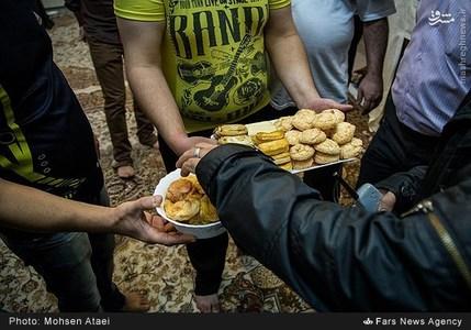 لحظه سال تحویل در زندان اوین +تصاویر