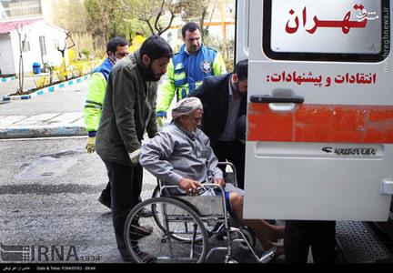 یمنی های مصدوم در تهران +تصاویر
