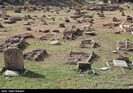 قبرستان 1400ساله در ایران +تصاویر