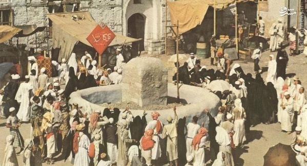 رمی جمارات در 70سال پیش + عکس