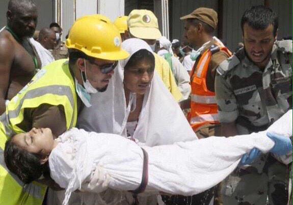 عکس های از فاجعه منا + تصاویر