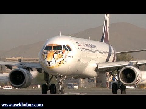 نقش یوزپلنگ ایرانی برروی دماغه هواپیما + عکس