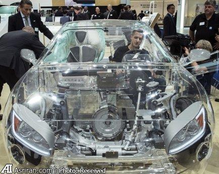 ساخت خودروهای شیشه ای + عکس