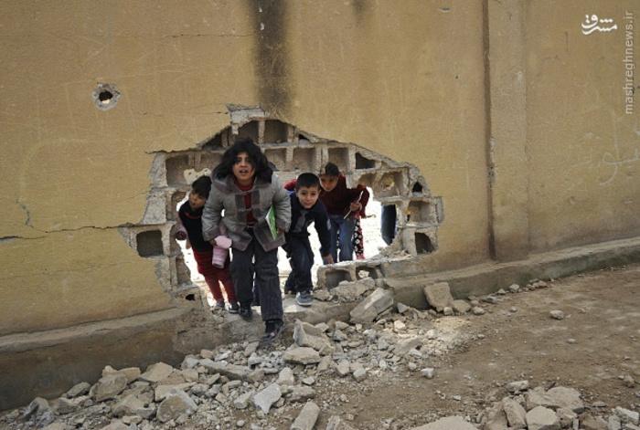 آغاز سال تحصیلی جدید در سوریه + تصاویر