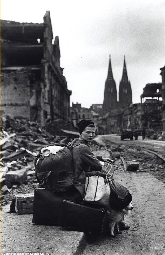 خرابی های جنگ جهانی در اروپا/تصاویر