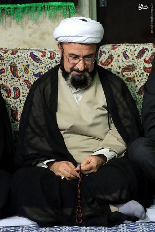 پسرآیت الله بهجت در بیت رهبری + عکس