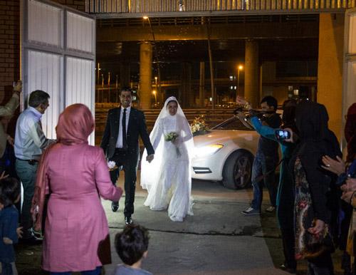 جالب ترین جشن ازدواج ایرانی + عکس