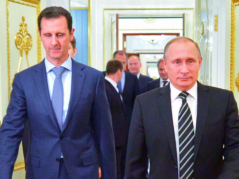 پایگاه المیادین تصمیمات گرفته شده در دیدار پوتین با بشار اسد را فاش کرد!