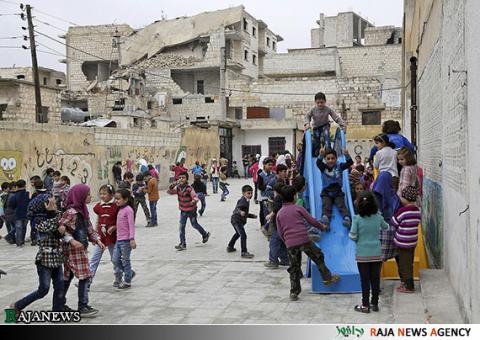 شروع سال تحصیلی جدید در سوریه/تصاویر