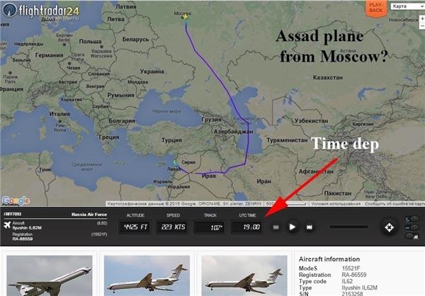 سفرمحرمانه اسد به روسیه از ایران گذشت + عکس