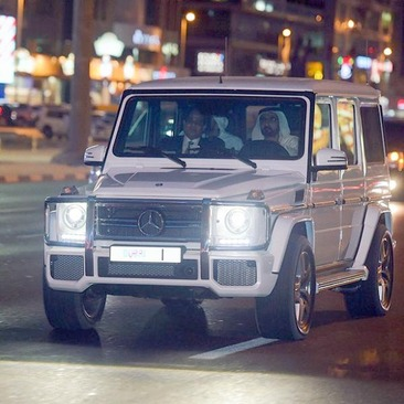 ماشین شخصی امیر دوبی‼️تصاویر