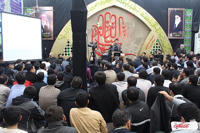 دهمین یادواره شهدای امامزاده سیدعابدین قائمشهر با سخنرانی رائفیپور/گزارش تصویری