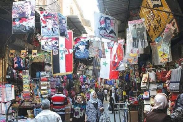گزارش روزنامه آمریکایی لسآنجلس تایمز از حال و هوای متفاوت مردم در دمشق!/تصاویر
